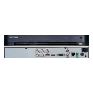 DVR 4 CANALES HIKVISION TURBO HD - H.265+ - DS-7204HQHI-K1
