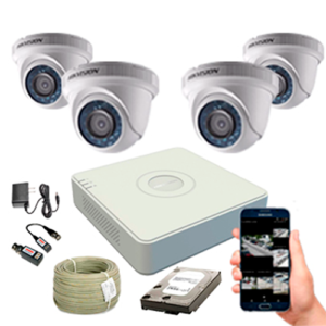 KIT CCTV HIKVISION MINI DVR TURBO KIT-12